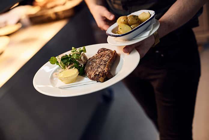 Rare Breed Sirloing Steak Truffle Mayonnaise