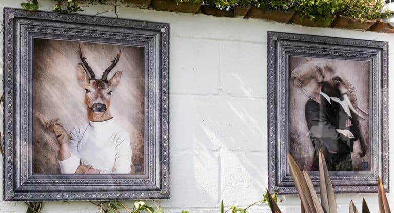 Give A Damn Aka Countess Catherine Duke Surus Aka Jumbo Outdoor Wall Panels Yard Art Uk From £ Each Yardartuk Com