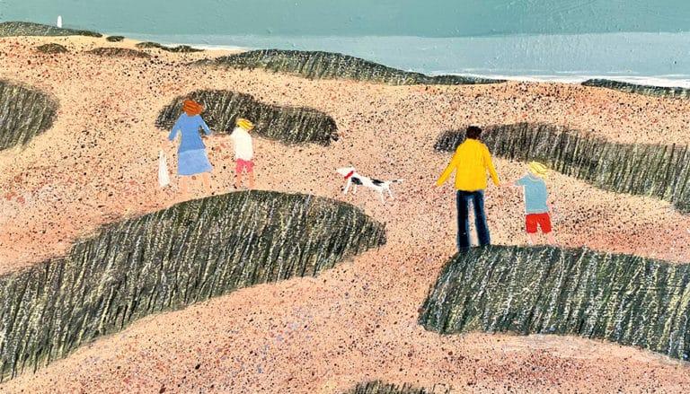 A beach painting