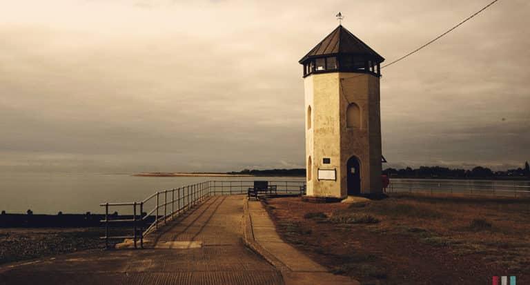Bateman's,tower,,brightlingsea,beach,,essex,,uk
