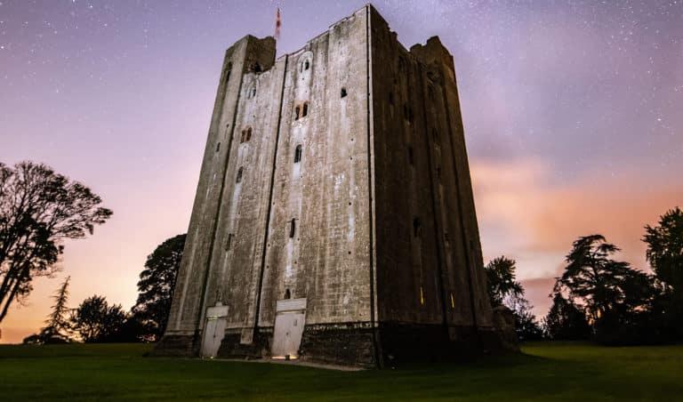 Hedingham Castle At Dusk, Photo By Mark Draper