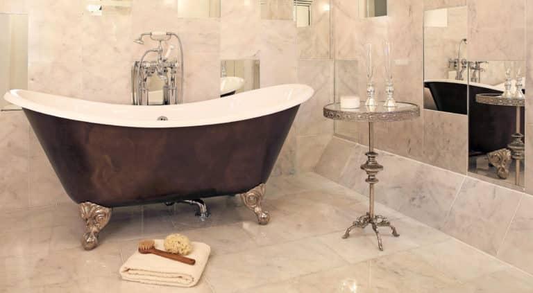 Imperium Feet Roll Top Bath Albion Showroom