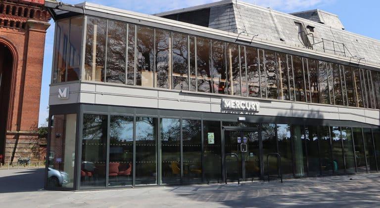 Mercury Theatre Building Exterior Photo By Rhianna Howard