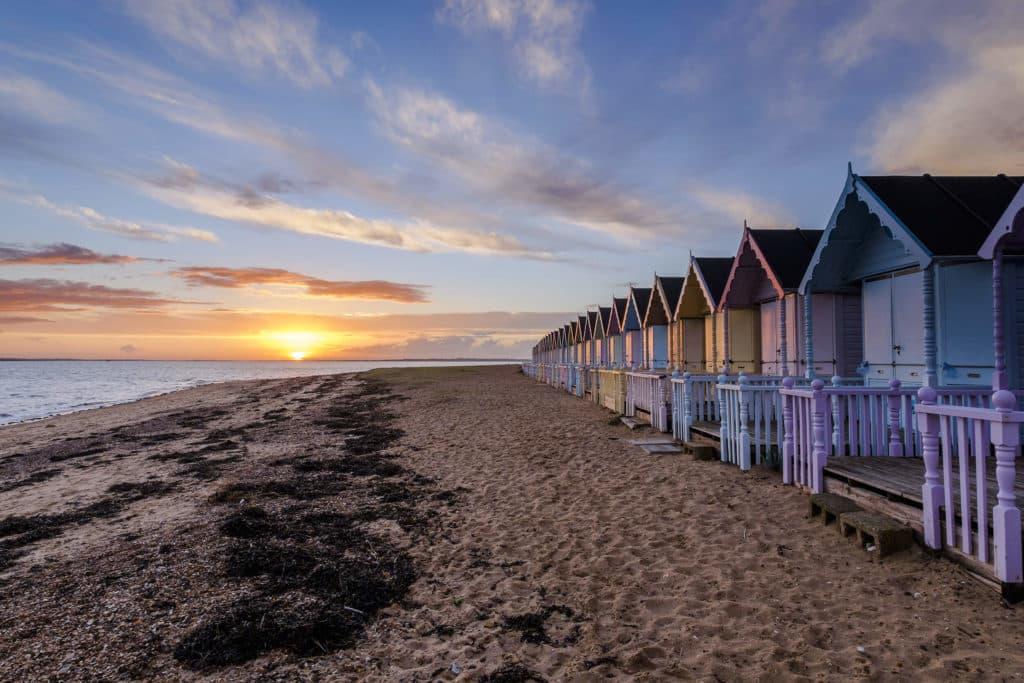 The Mersea Island Beach